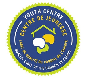 Logo of Council of Europe's Quality Label for youth centers